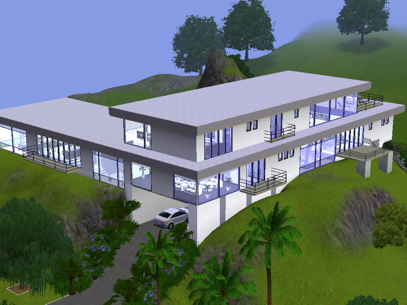 Mod The Sims Hollywood Luxury Modern Mansion The
